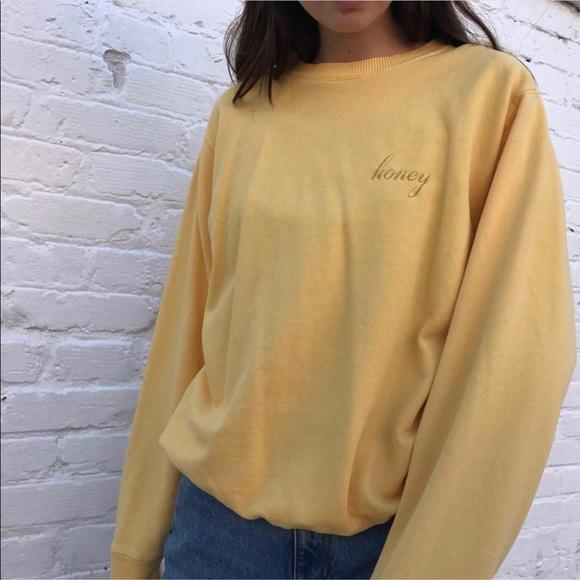 Brandy Melville Sweaters Bnwt Honey Pullover Poshmark